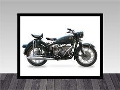 poster moto 25 - 30x40cm