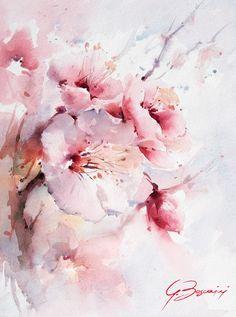 """""""fiori di pesco"""" - Carta Magnani - 30x40"""