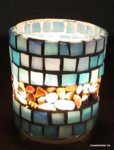 Tiffanyglas und Muscheln - eine tolle Kombination gefertigt von…