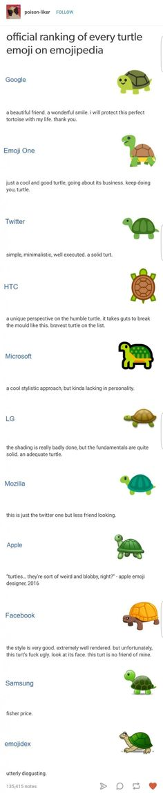 Solid turtle ranking. Would recommend.
