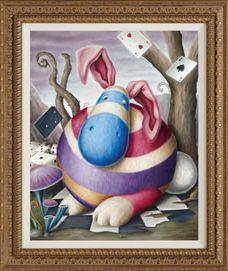 Canvas On Board - Fat Floppy Fluff