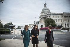 TIME: Women Are The Only Adults Left in Washington. Senators Murkowski, Ayotte, center, and Collins, right, broke the logjam to open the government and avert default.