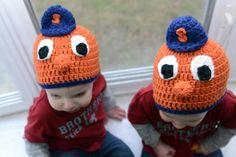 Syracuse Orange head by AppleBabiesBoutique