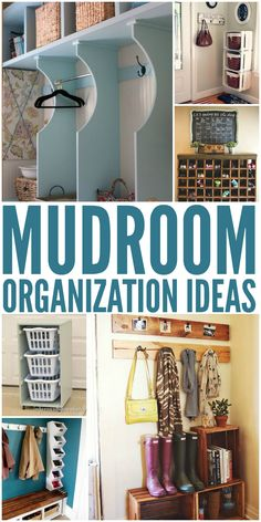 Mudroom Organization Ideas That will Keep the Rest of Your House Clean - One Crazy House
