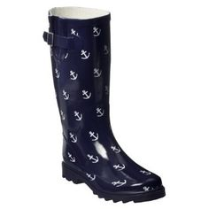 anchors & rain boots... I need these