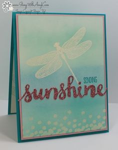 Stampin' Up! Dragonfly Dreams for the Totally Techniques Blog Hop