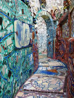 Mosaic Mural Magic Gardens ~ Philadelphia, Pennsylvania