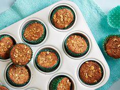 Banana-Walnut Bran Muffins Recipe : Food Network Kitchens : Food Network - FoodNetwork.com