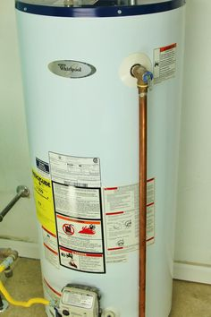 to Drain a Water Heater DIY Network has instructions on how to drain your hot-water heater to keep it well-maintained and working properly.DIY Network has instructions on how to drain your hot-water heater to keep it well-maintained and working properly. Home Renovation, Diy Heater, Pex Plumbing, Diy Home Decor For Apartments, Home Fix, Diy Home Repair, Water Lighting, Light Water, Diy Network