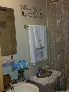 my guest bathroom <3 luv the feminine look