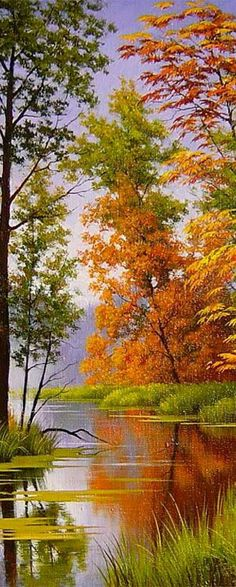 Outro lado Easy Landscape Paintings, Watercolor Landscape, Landscape Art, Landscape Photography, Nature Photography, Beautiful Landscape Wallpaper, Beautiful Paintings, Beautiful Landscapes, Beautiful Nature Pictures