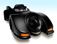 La Bat-mobile versione Pixar