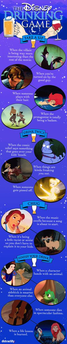 This Disney Movie Drinking Game Might Make The 100th Viewing Of 'Frozen' Tolerable
