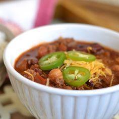 Cook-Off Winning Chili Recipe