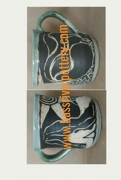 The original cape cod mermaid mug! Mermaid Mugs, Sgraffito, Cape Cod, Bottle Opener, Pottery, Bass, River, Cod, Ceramica