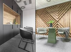 Patcraft mixed matierlas collection lvt thicker material for Well designed office spaces