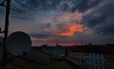 sunrise over Pilsen II. - null