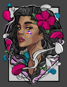 Willgom on Behance Graffiti Art Drawings, Street Art Graffiti, Digital Portrait, Portrait Art, Canvas Wall Art Quotes, Doodle Art Drawing, Graffiti Characters, Collage Design, African American Art