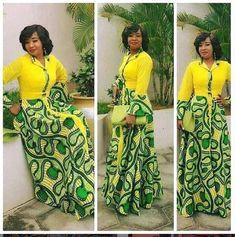 New modern african fashion inspiration ideas 9405 African Maxi Dresses, Latest African Fashion Dresses, African Dresses For Women, African Print Fashion, Africa Fashion, African Attire, African Outfits, Lace Dresses, Chiffon Dress