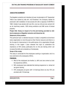 Employee Satisfaction  Tulasi Granites Mba Project Report