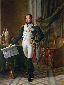 «Portrait de Joseph Bonaparte, roi de Naples», huile sur toile de Jean-Baptiste Wicar réalisée en 1808.