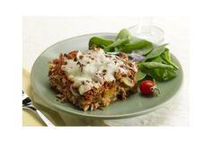 Biggest Loser Recipes - Cheesy Eggplant Lasagna