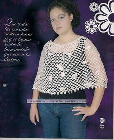 Poncho Juvenil | Mi Rincon de Crochet