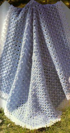 free crochet baby blanket patterns | ... blanket for the newborn here is a free crochet baby blanket pattern