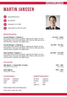 cv sjabloon + sollicitatiebrief sjabloon in Word, zelf te bewerken, direct downloadbaar: http://deleydsche.nl/product/cv-sjabloon-29