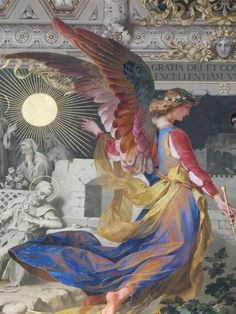 Angel / Mosaic at Vatican City.sent to me by my dear friend Laura Catholic Art, Religious Art, Adventure Holiday, Adventure Travel, I Believe In Angels, Les Religions, Angels Among Us, Angels In Heaven, Guardian Angels