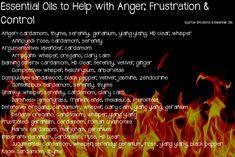 essential oils for anger, frustration, control, doterra