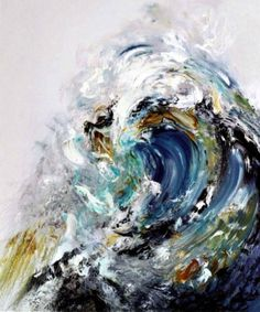 waves. #painting #art #abstract