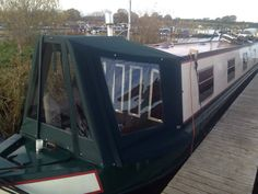 Framed cratch cover Narrowboat Wide beam boat covers Prams and Hoods Call Kinver Canopies Ltd & Wide beam pram sides removed. Narrowboat Wide beam boat covers ...