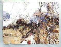 David Tress Pembrokeshire landscape artist. Contemporary Landscape, Urban Landscape, Abstract Landscape, Abstract Art, Seascape Paintings, Landscape Paintings, Landscapes, Love Painting, Beach Art