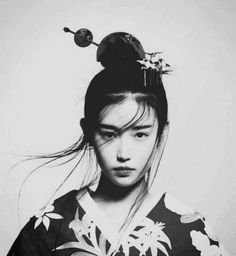 The Kimono Gallery: Photo Foto Portrait, Portrait Photography, Tv Movie, Geisha Art, Human Reference, Japan Girl, Asian Art, Black And White Photography, Cyberpunk
