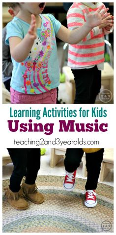 Learning Songs for Circle Time for Toddlers and Preschoolers - Teaching 2 and 3 Year Olds