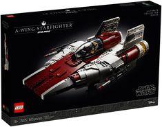 Collectible LEGO® Star Wars™ A-wing Starfighter for display! Lego Star Wars, Star Wars Clone Wars, Disney Star Wars, Star Wars Art, Lego Disney, Disney Home, Le Retour Du Jedi, Jedi Ritter, Famous Movie Scenes