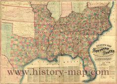 Atlanta GA Map Of Southern United States Southern United - Us map southern states