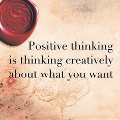 """Positive thinking is thinking creatively about what you want. Just make sure that you don't add any negative words to your thoughts. For example, if you are always late, then saying, """"I'm not going to be late,"""" is still negative thinking because your focu Secret Law Of Attraction, Law Of Attraction Quotes, Negative Words, Secret Quotes, Manifesting Money, Law Of Attraction Affirmations, Negative Thinking, The Secret Book, Startup"""