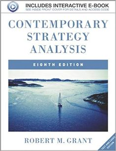 Best Free Books Contemporary Strategy Analysis (PDF, ePub, Mobi) by