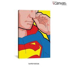 Superhero Canvas 26' x 18' Artwork - Assorted Styles at 62% Savings off Retail!