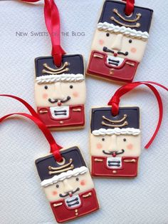 Toy soldier cookies