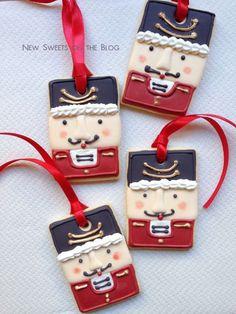 Toy soldier cookies