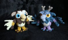 Horde and Alliance Moonkin Hatchlings, World of Warcraft