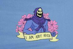 I am not nice~!