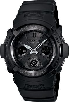 Casio - G-Shock Solar Atomic Watch AWGM100B-1A (Black)