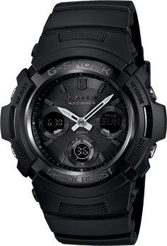 Casio - G-Shock Solar Atomic Watch AWGM100B-1A (Black)