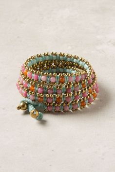 Lila-Stone Bracelet - Anthropologie.com