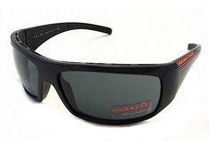 238834d094f9d PRADA SUNGLASSES SPS 01L Sunglasses SPS01L Black 1BO-1A1 Shades « Xquisite  Beauty