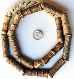 Necklace of Tiv Bronze Beads, Nigeria